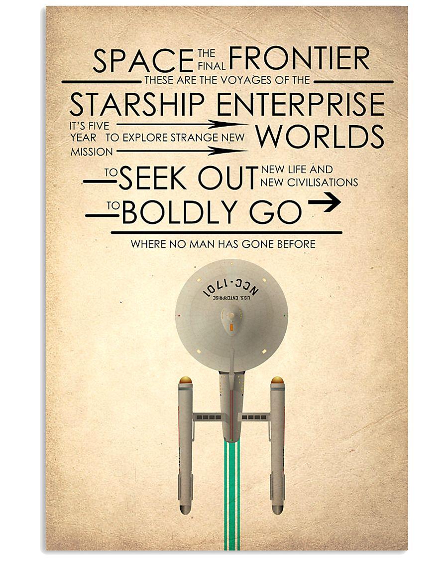 enterprise starship 24x36 Poster
