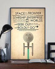 enterprise starship 24x36 Poster lifestyle-poster-2