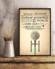 enterprise starship 24x36 Poster lifestyle-poster-3