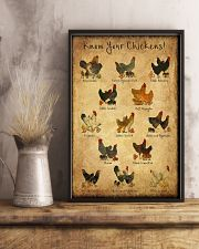 Your Chicken 24x36 Poster lifestyle-poster-3