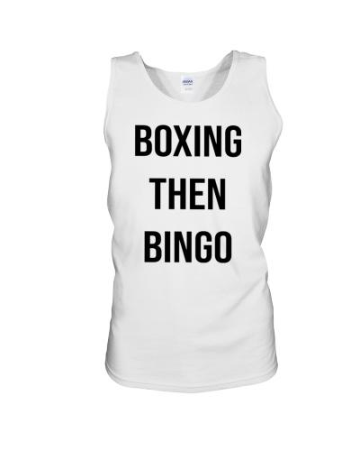 Boxing then bingo