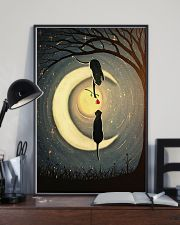 Couple Cat Moon 24x36 Poster lifestyle-poster-2