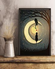 Couple Cat Moon 24x36 Poster lifestyle-poster-3