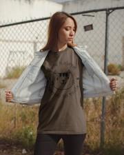 Smile Cat Classic T-Shirt apparel-classic-tshirt-lifestyle-07