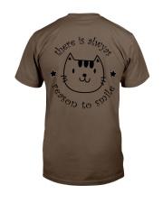 Smile Cat Classic T-Shirt back