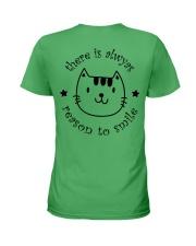 Smile Cat Ladies T-Shirt back