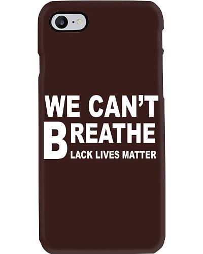 We Can't Breathe Black Lives Matter