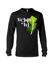 Vegan in NJ Long Sleeve Tee thumbnail