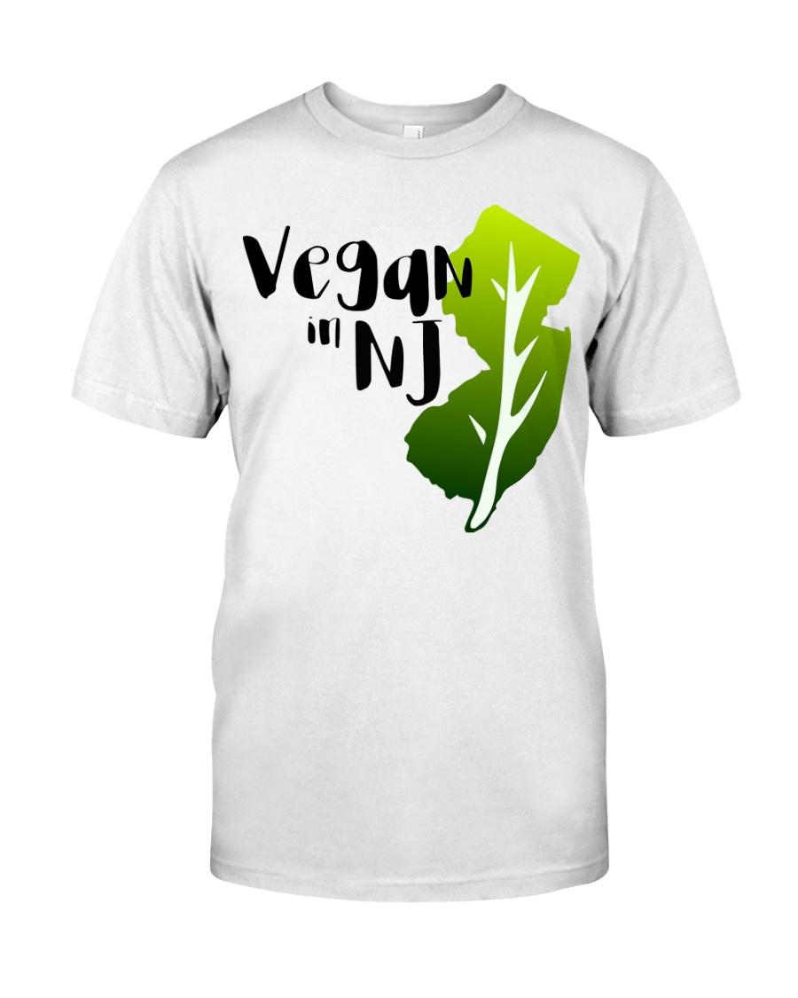 Vegan in NJ Premium Fit Mens Tee