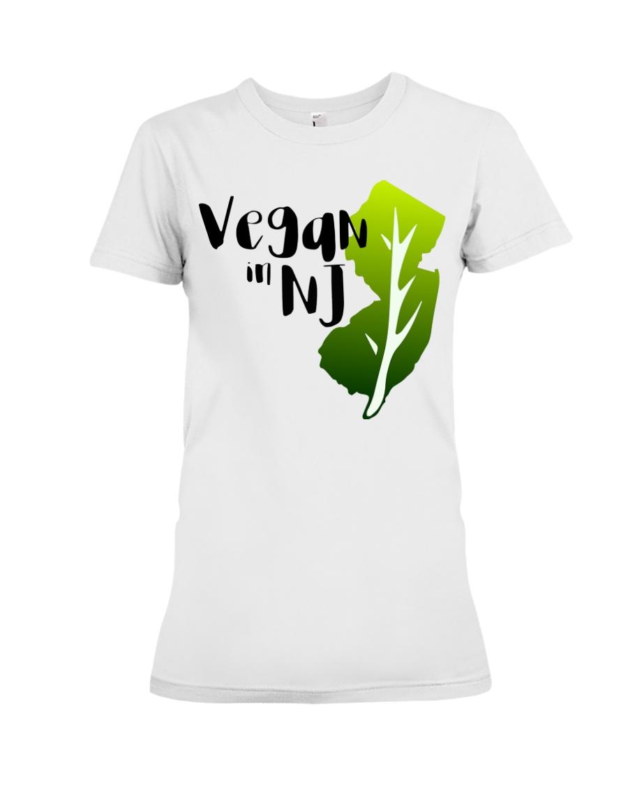 Vegan in NJ Premium Fit Ladies Tee