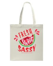 Fresh Sweet Sassy Watermelon Tote Bag thumbnail
