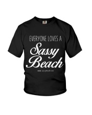 Everyone Loves a Sassy Beach Youth T-Shirt thumbnail