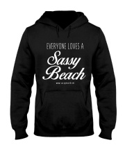 Everyone Loves a Sassy Beach Hooded Sweatshirt thumbnail