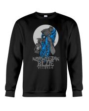 Norwegian Blue Wizard  Crewneck Sweatshirt front