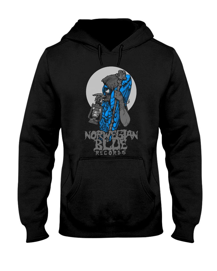 Norwegian Blue Wizard  Hooded Sweatshirt