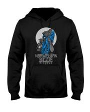 Norwegian Blue Wizard  Hooded Sweatshirt front