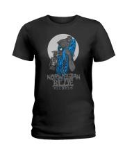 Norwegian Blue Wizard  Ladies T-Shirt thumbnail