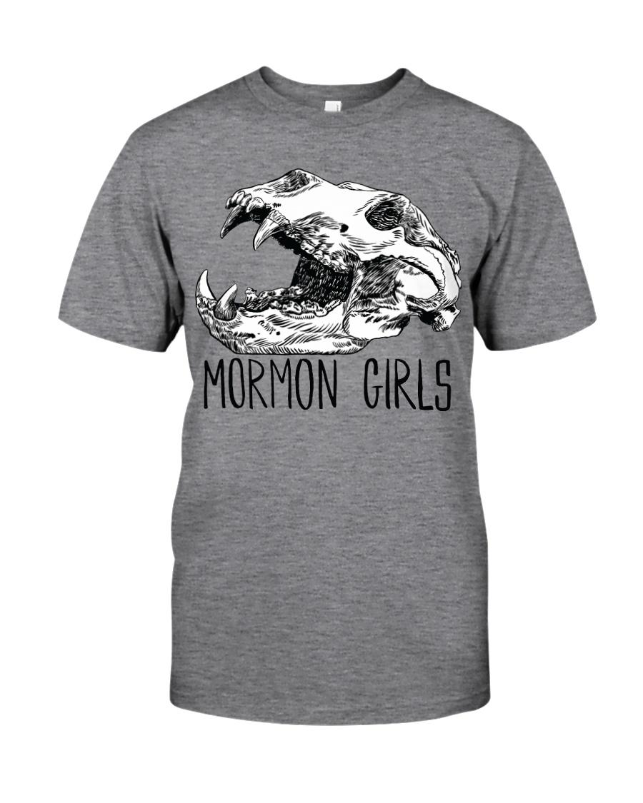 Mormon Girls - BEAR SKULL Classic T-Shirt