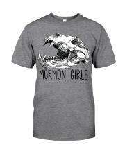 Mormon Girls - BEAR SKULL Classic T-Shirt front