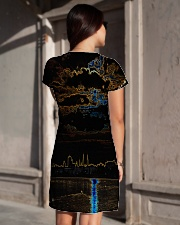 Sunset Over The Sea All-over Dress aos-dress-back-lifestyle-1