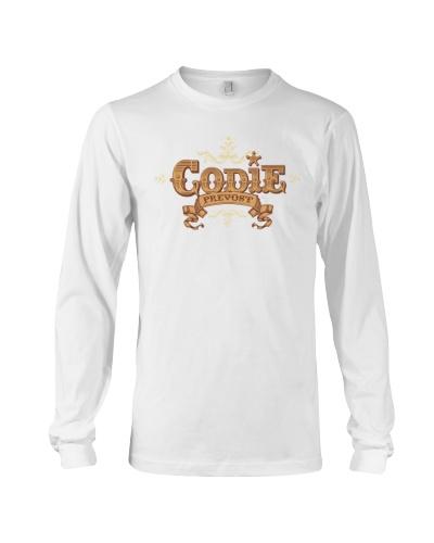 Codie Prevost Long Sleeve Logo Shirt