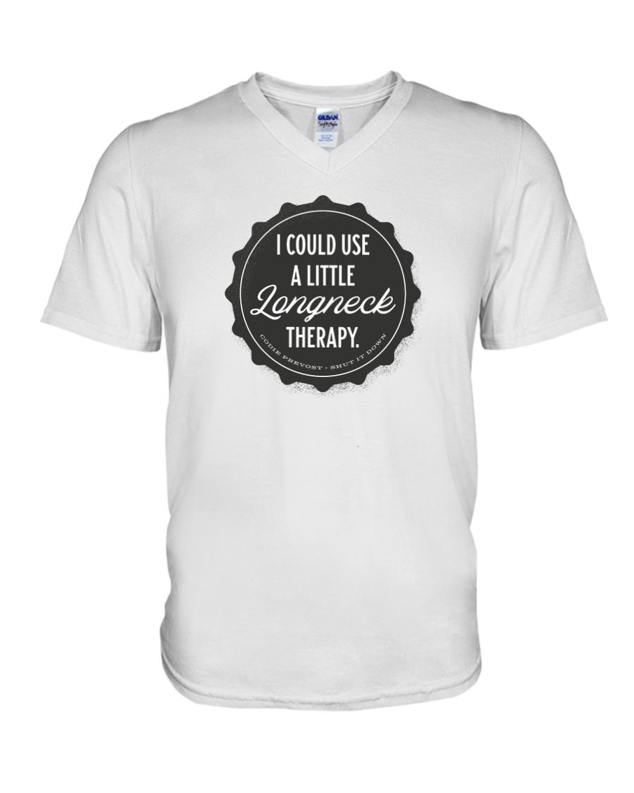 Shut It Down Campaign V-Neck T-Shirt