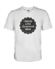 Shut It Down Campaign V-Neck T-Shirt front