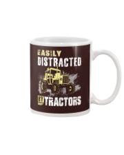 Easily Distracted By Tractors Mug thumbnail