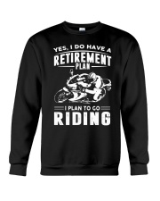 I Plan To Go Riding Crewneck Sweatshirt thumbnail
