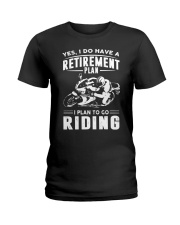 I Plan To Go Riding Ladies T-Shirt thumbnail