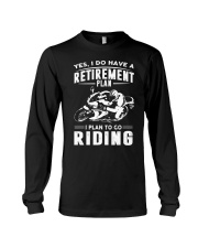 I Plan To Go Riding Long Sleeve Tee tile