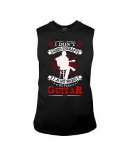 Just Need To Play Guitar Sleeveless Tee thumbnail