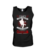 Just Need To Play Guitar Unisex Tank thumbnail