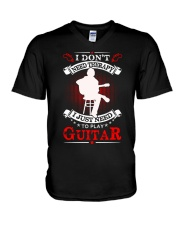 Just Need To Play Guitar V-Neck T-Shirt thumbnail