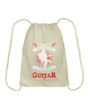 Just Need To Play Guitar Drawstring Bag thumbnail
