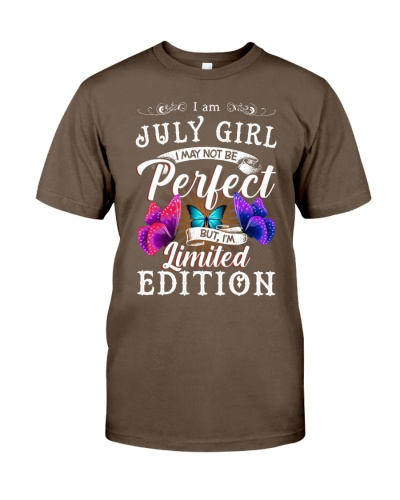I Am July Girl I May Not Be Prefect But Im Limited