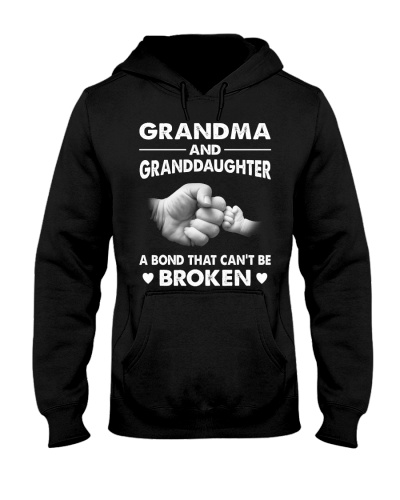 Grandma And Granddaughter T-shirt Gift
