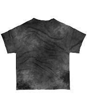Gay Pride Rainbow Flag Skull Gift T-Shirt  All-over T-Shirt back