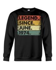 Legend Since June 1974 Crewneck Sweatshirt thumbnail