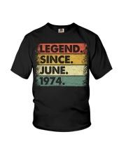 Legend Since June 1974 Youth T-Shirt thumbnail