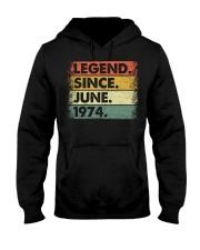 Legend Since June 1974 Hooded Sweatshirt thumbnail