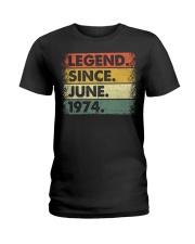 Legend Since June 1974 Ladies T-Shirt thumbnail
