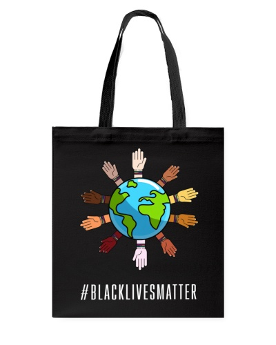 Black Lives Matter Color arms do not discriminate