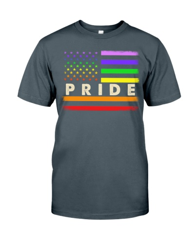 Rainbow LGBT Flag Pride T-shirt