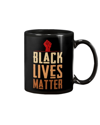 Black Lives Matter Fist Logo T-shirt