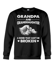 Grandpa and Granddaughter T-shirt Gift Crewneck Sweatshirt thumbnail