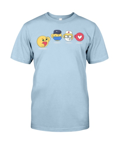Care Icon Cute Complete Mission T-shirt