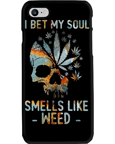 I Bet My Soul Smells Like Weed Skull T-shirt