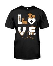 LOVE VET Classic T-Shirt front