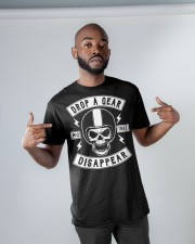 Drop A Gear Classic T-Shirt apparel-classic-tshirt-lifestyle-front-32